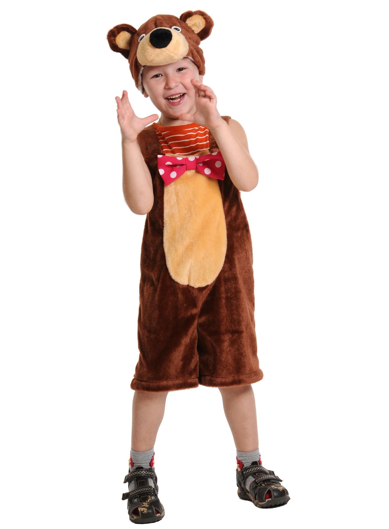 Как сделать костюм медведь 558