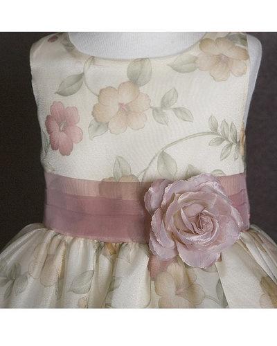 Красивый пояс на детское платье своими руками 23